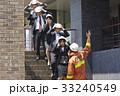 社会人 消防士 避難訓練の写真 33240549