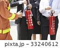 社会人 防災訓練 消防士の写真 33240612