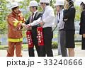社会人 防災訓練 消防士の写真 33240666