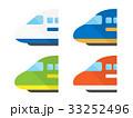 アイコン 電車 特急のイラスト 33252496