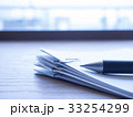 ビジネスイメージ・書類・クリップ 33254299