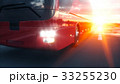 バス ロード 乗り物のイラスト 33255230