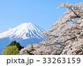 富士山と桜 33263159