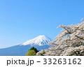 富士山と春の桜 33263162
