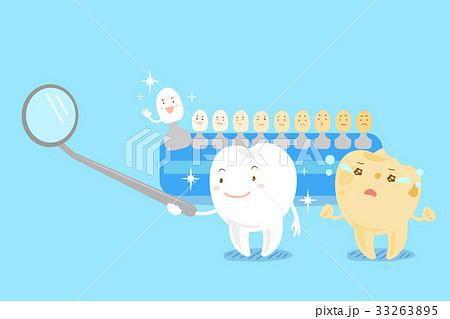 cute cartoon tooth 33263895