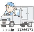 男性 ガッツポーズ 軽自動車のイラスト 33266373