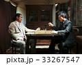 チェスを楽しむ男性 33267547