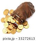 ドル カバン 巾着のイラスト 33272613