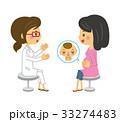 妊婦 ベクター 妊娠のイラスト 33274483