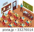 学校 クラス 学級のイラスト 33276014