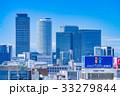 《愛知県》名古屋・都市風景《栄より名古屋駅方面を望む》 33279844
