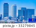 《愛知県》名古屋・都市風景《栄より名古屋駅方面を望む》 33279845