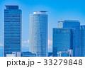《愛知県》名古屋・都市風景《栄より名古屋駅方面を望む》 33279848