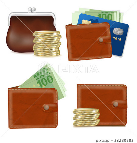 Wallets Set 33280283