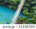 寸又峡 吊り橋 橋の写真 33280560