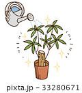 植木に水やり 33280671