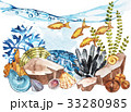Marine Life Landscape - the ocean and the 33280985
