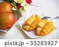 完熟マンゴー マンゴー 果物の写真 33283927