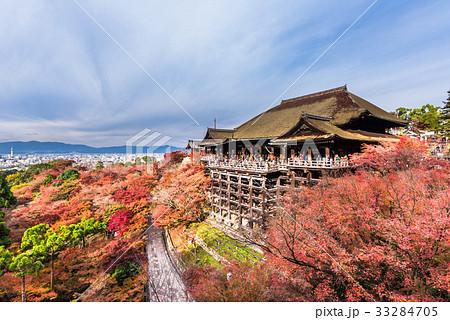 秋の京都 清水寺 33284705