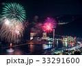 打ち上げ花火 花火大会 花火の写真 33291600