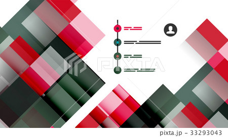 Business presentation geometric templateのイラスト素材 [33293043] - PIXTA