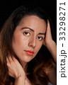 young woman hispanic face 33298271
