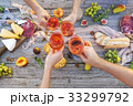 ぶどう酒 ワイン 葡萄酒の写真 33299792