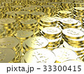 ビットコイン 暗号通貨 仮想通貨のイラスト 33300415