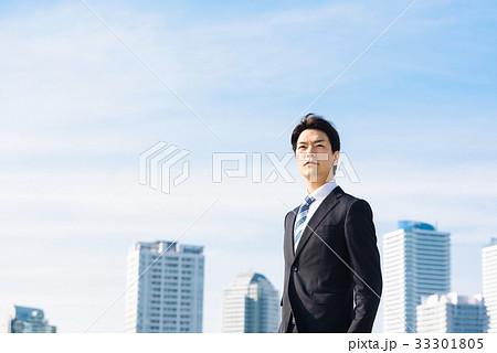 ビジネス 空とビル 33301805