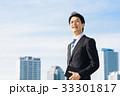 ビジネスマン 男性 ビジネスの写真 33301817