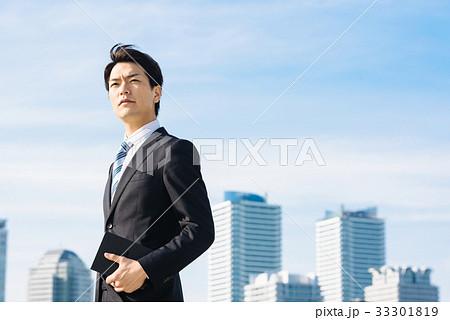 ビジネス 空とビル 33301819
