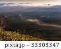 初秋の原生林と雲海2 33303347