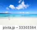 海と砂浜 33303364