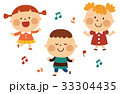 ダンスする子供 33304435