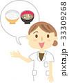 食事 指導 イラスト 33309268