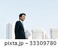 ビジネスマン 男性 ビジネスの写真 33309780
