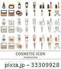 化粧品 アイコン セット 33309928