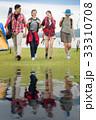 キャンプ 人々 人物の写真 33310708