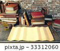 Old paper and ancient books on study table  33312060