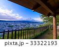 【山梨県】新倉山浅間公園から、秋の富士山 33322193