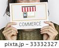 ビジネス 商売 グラフィックの写真 33332327