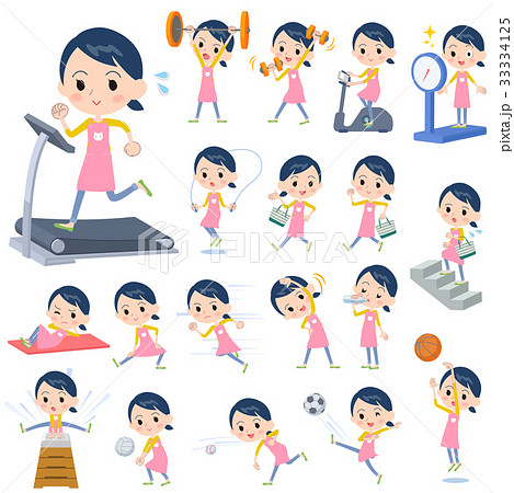 Childminder women_Sports & exercise 33334125
