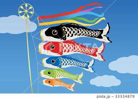鯉のぼり 33334879