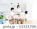 若い家族(朝食) 33335706