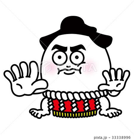 お相撲さんのイラスト素材 33338996 Pixta