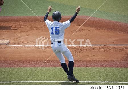 高校野球 ランナーコーチ 33341571