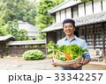 農業 ミドル 男性 野菜 農家 スローライフ イメージ 33342257