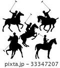 ボロ ポロ 馬のイラスト 33347207