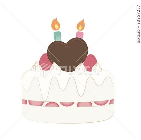 2歳バースデーケーキ 33357257