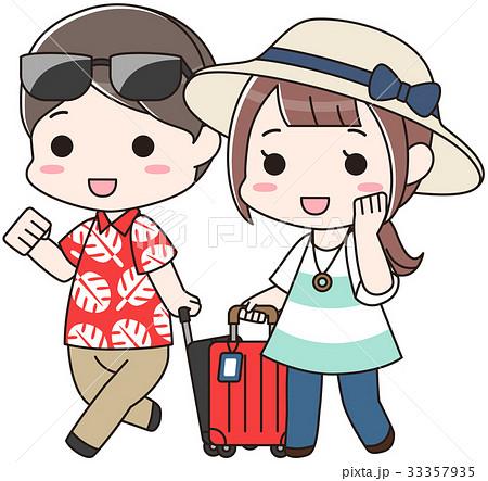 旅行に行く夫婦 33357935